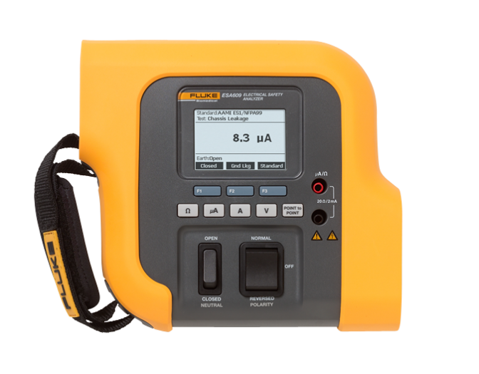 Fluke esa609 electrical safety analyzer
