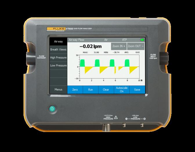 Fluke VT650 Gas Flow Analyzer